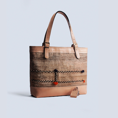 leather tote bags online - vintage totes - Lotus Handicraft